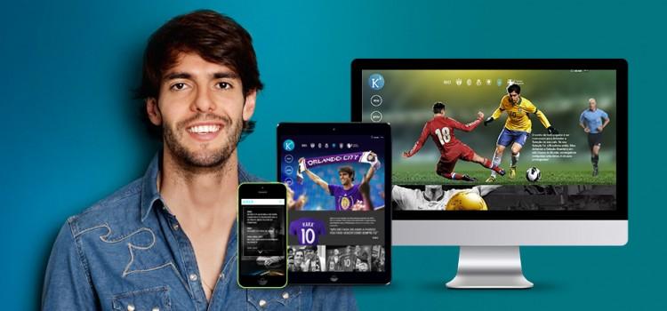 Kaká: Os bastidores do novo site para 50 milhões de fãs