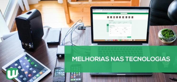 Melhorias nas tecnologias WebmaniaBR®