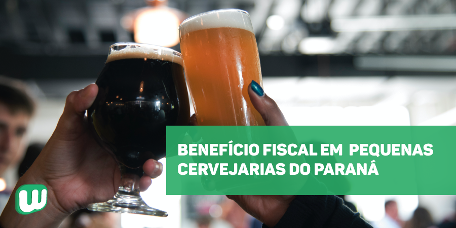 Benefício fiscal em pequenas cervejarias do Paraná