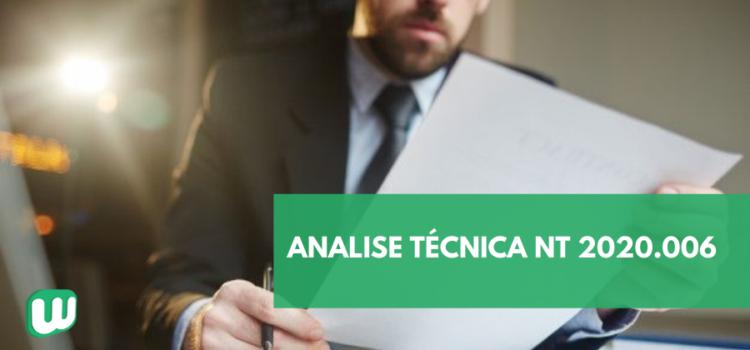 Análise Técnica NT 2020.006