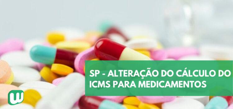 SP altera cálculo do ICMS de medicamentos a partir de outubro