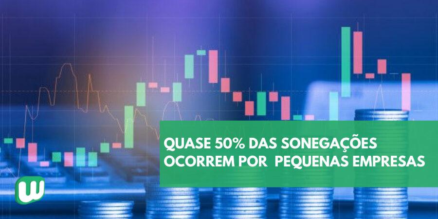 Quase 50% das sonegações no Brasil ocorrem por pequenas empresas