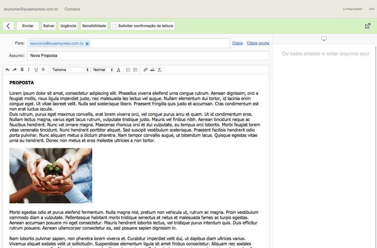 Painel de Controle E-mail Empresarial 03